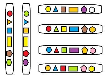 Abeslang Geometrik Şekil Matı