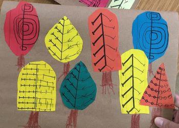 Orman Haftası Simetrik Ağaç Tamamlama